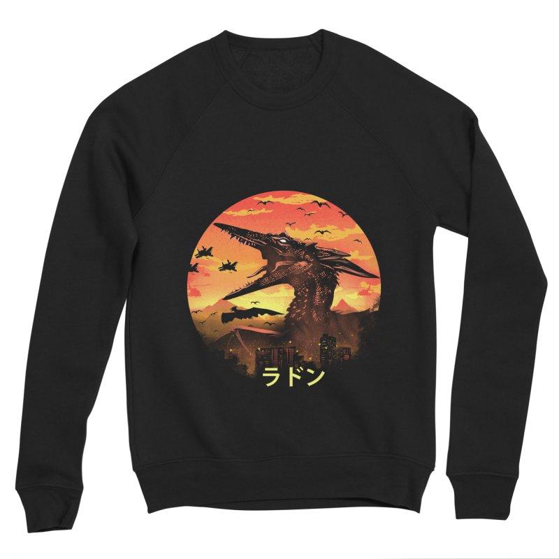 Kaiju Rodan Men's Sponge Fleece Sweatshirt by dandingeroz's Artist Shop