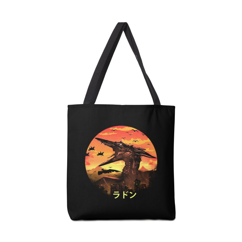Kaiju Rodan Accessories Tote Bag Bag by dandingeroz's Artist Shop