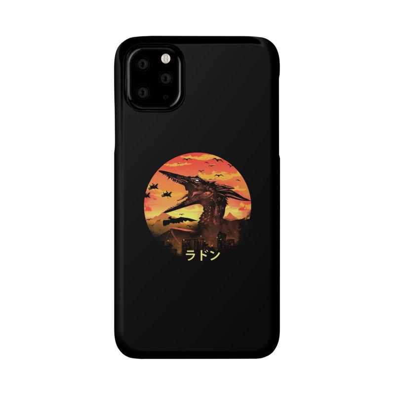 Kaiju Rodan Accessories Phone Case by dandingeroz's Artist Shop