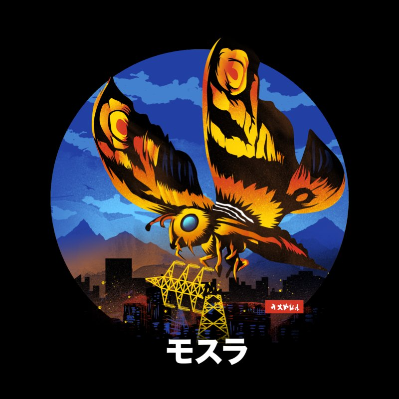 Kaiju Mothra Men's Longsleeve T-Shirt by dandingeroz's Artist Shop