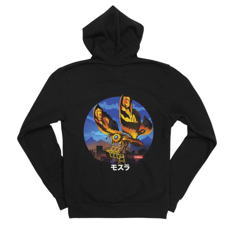 Kaiju Mothra Women's Zip-Up Hoody by dandingeroz's Artist Shop
