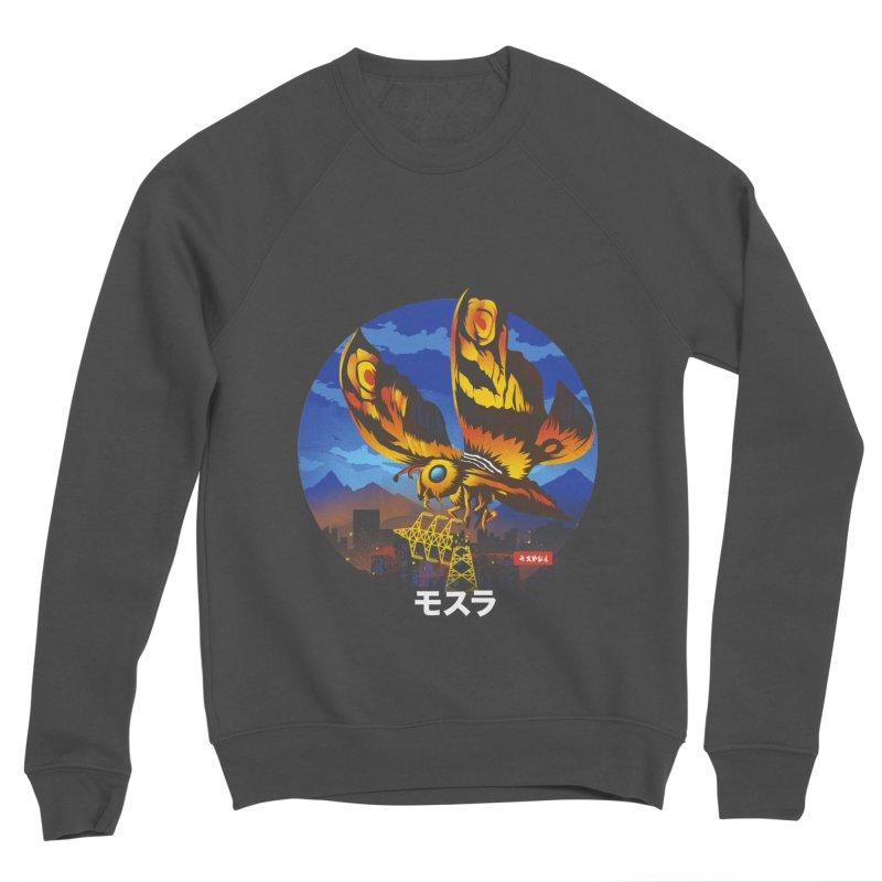 Kaiju Mothra Men's Sponge Fleece Sweatshirt by dandingeroz's Artist Shop