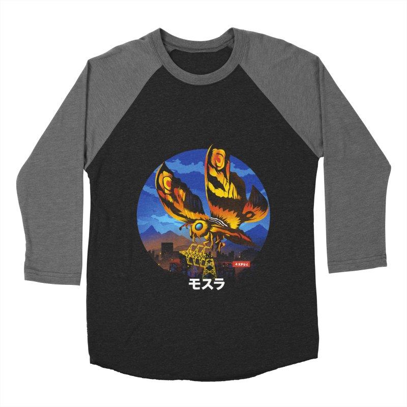 Kaiju Mothra Women's Longsleeve T-Shirt by dandingeroz's Artist Shop