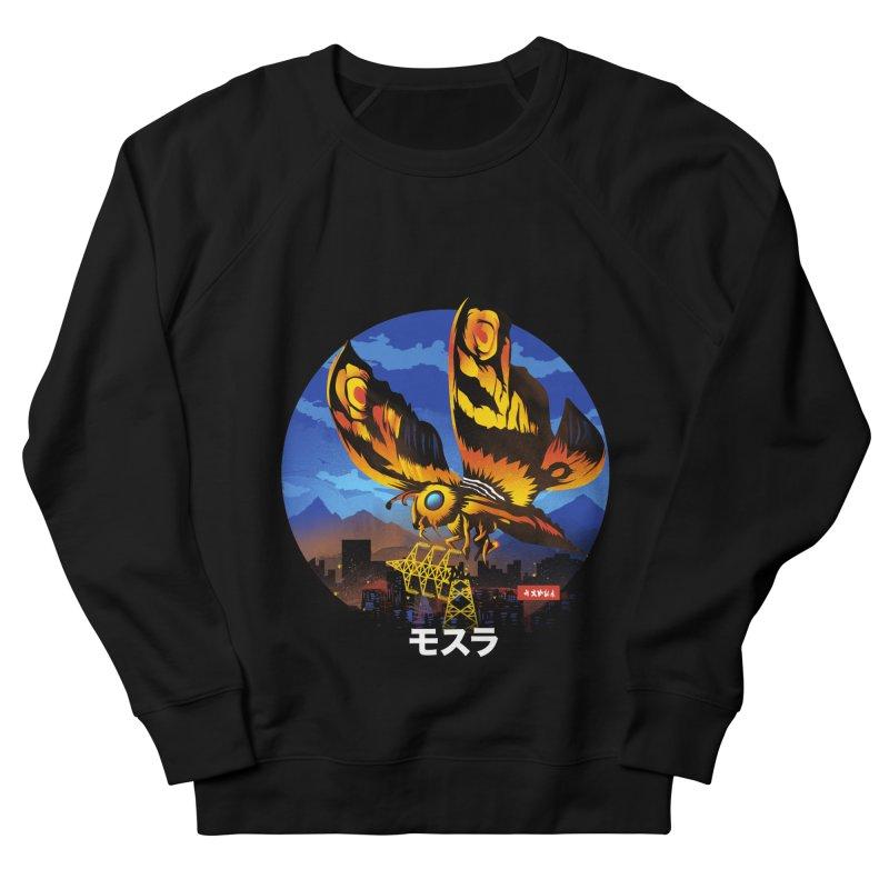 Kaiju Mothra Men's Sweatshirt by dandingeroz's Artist Shop