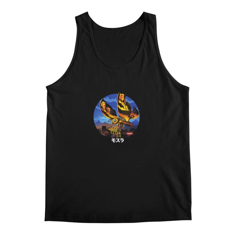 Kaiju Mothra Men's Tank by dandingeroz's Artist Shop