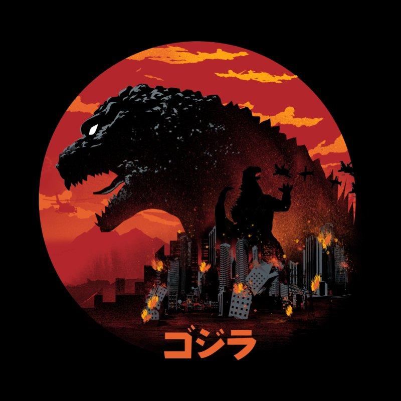 King Kaiju Kids Baby T-Shirt by dandingeroz's Artist Shop