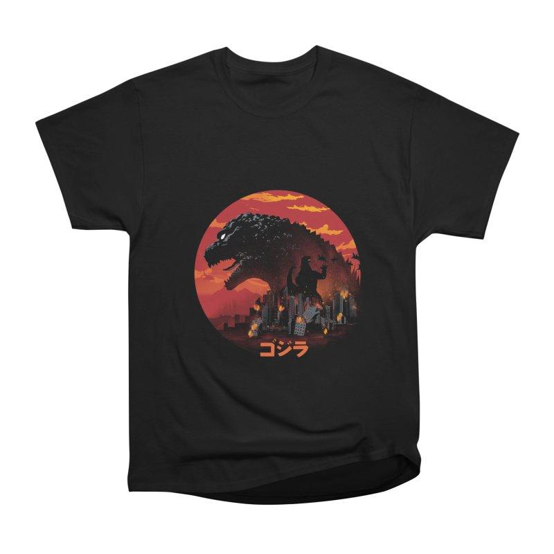 King Kaiju Women's T-Shirt by dandingeroz's Artist Shop
