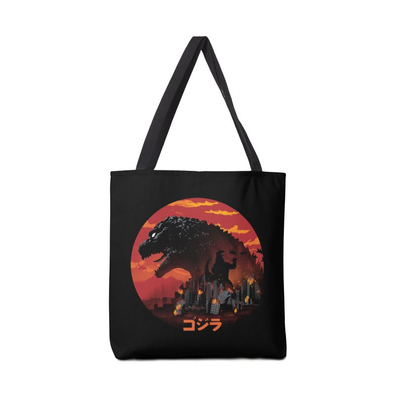 King Kaiju Accessories Tote Bag Bag by dandingeroz's Artist Shop