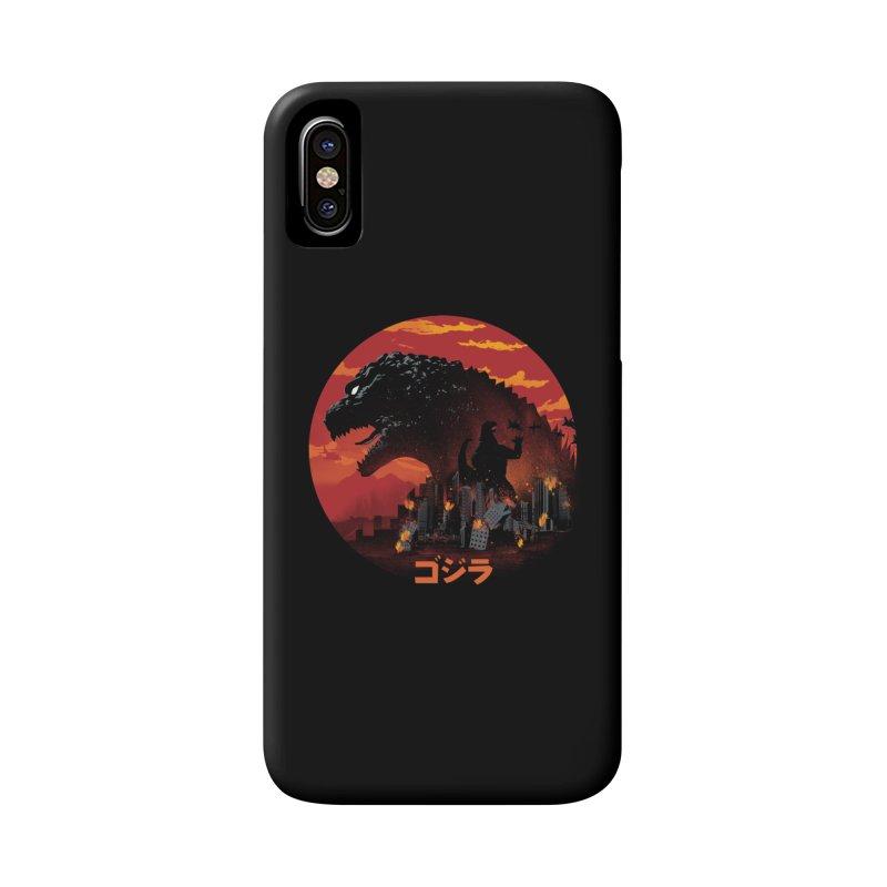 King Kaiju Accessories Phone Case by dandingeroz's Artist Shop
