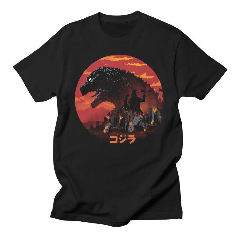 King Kaiju Men's T-Shirt by dandingeroz's Artist Shop