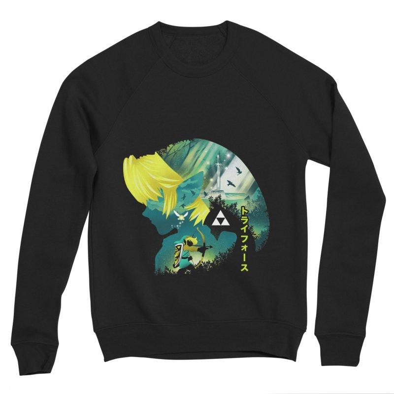 Hyrule Hero Women's Sponge Fleece Sweatshirt by dandingeroz's Artist Shop