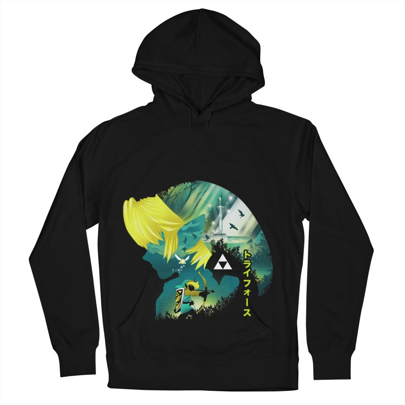 Hyrule Hero Men's French Terry Pullover Hoody by dandingeroz's Artist Shop