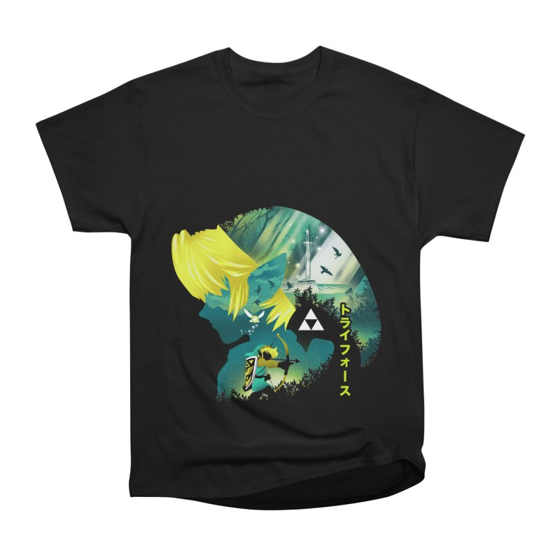 Hyrule Hero Women's Heavyweight Unisex T-Shirt by dandingeroz's Artist Shop