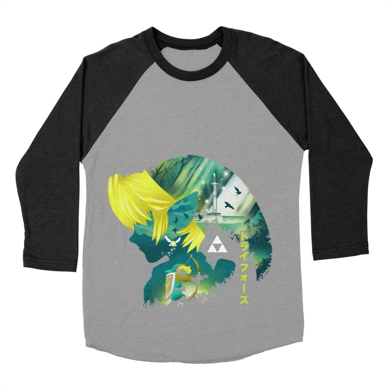 Hyrule Hero Women's Baseball Triblend Longsleeve T-Shirt by dandingeroz's Artist Shop