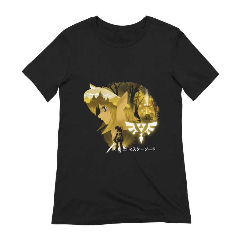 The Chosen Hero Women's Extra Soft T-Shirt by dandingeroz's Artist Shop