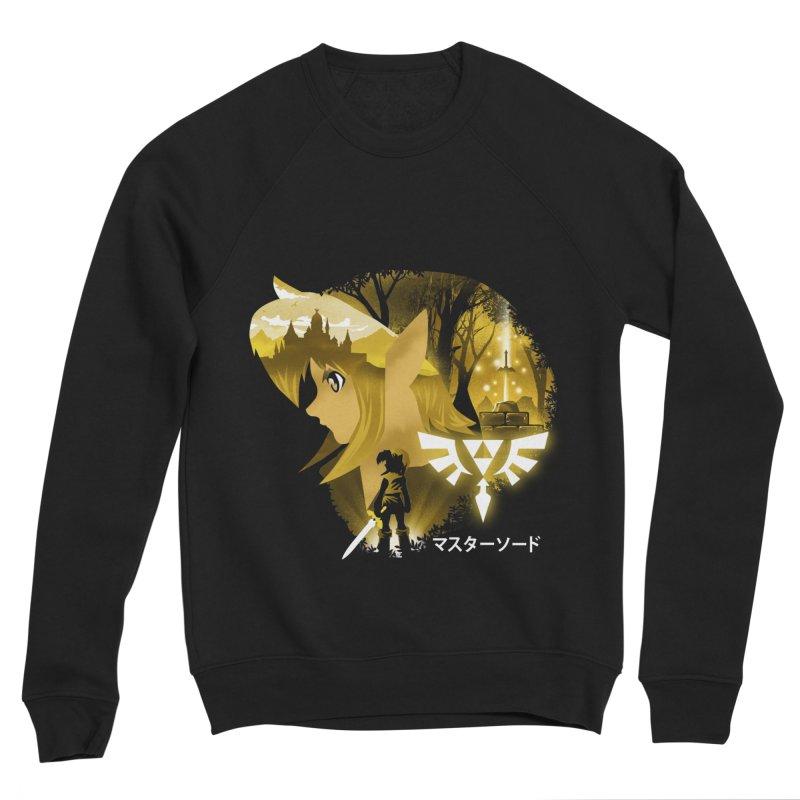 The Chosen Hero Men's Sponge Fleece Sweatshirt by dandingeroz's Artist Shop