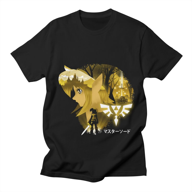 The Chosen Hero Men's Regular T-Shirt by dandingeroz's Artist Shop