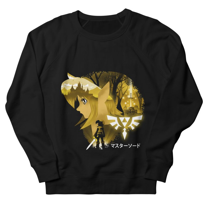 The Chosen Hero Women's French Terry Sweatshirt by dandingeroz's Artist Shop
