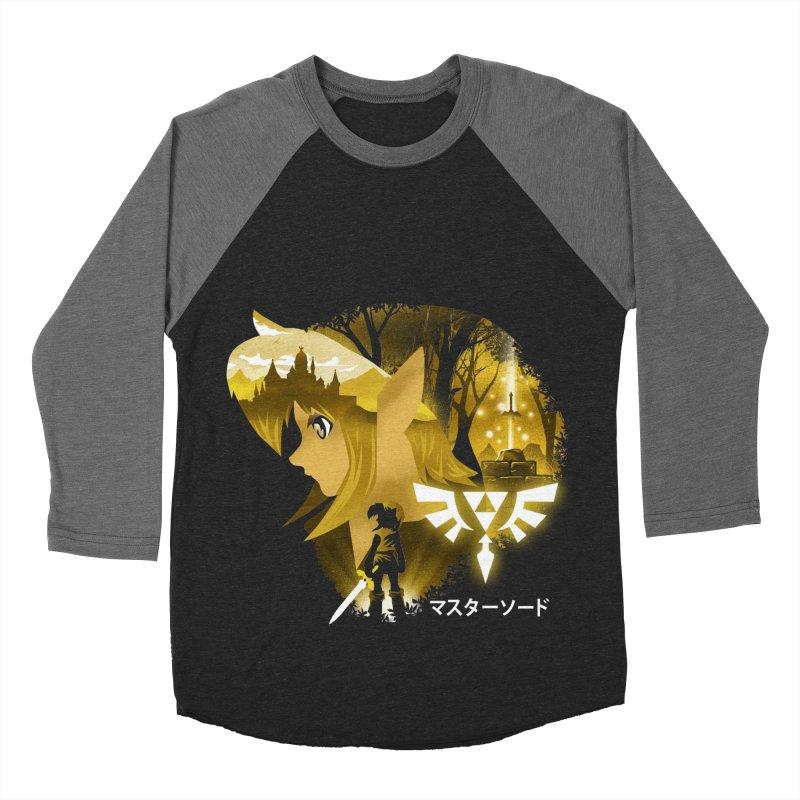 The Chosen Hero Women's Baseball Triblend Longsleeve T-Shirt by dandingeroz's Artist Shop