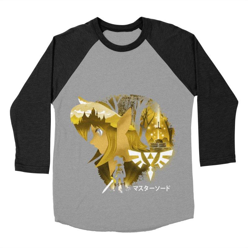 The Chosen Hero Men's Baseball Triblend Longsleeve T-Shirt by dandingeroz's Artist Shop