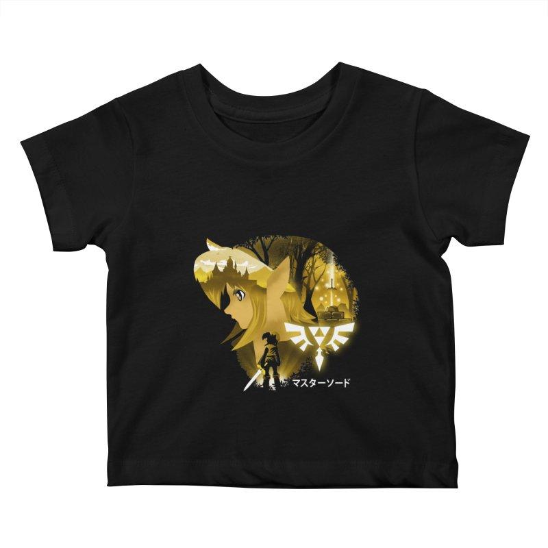 The Chosen Hero Kids Baby T-Shirt by dandingeroz's Artist Shop