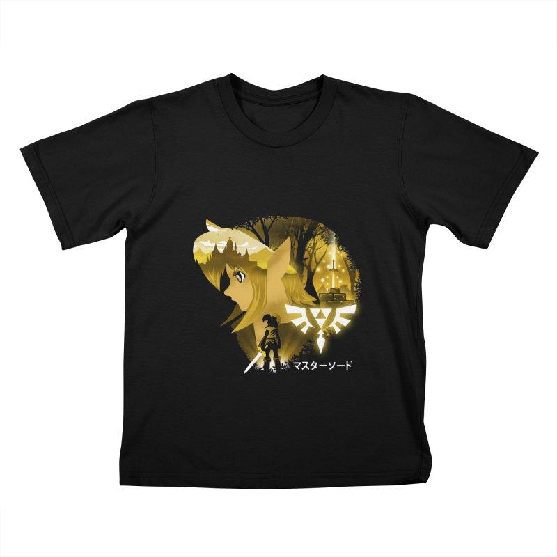 The Chosen Hero Kids T-Shirt by dandingeroz's Artist Shop