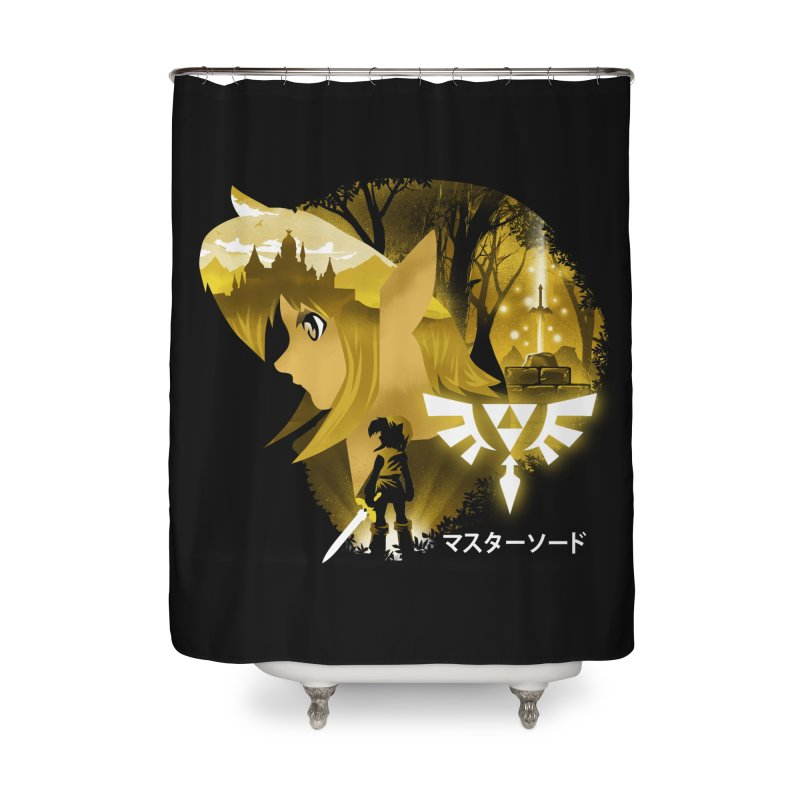 The Chosen Hero Home Shower Curtain by dandingeroz's Artist Shop