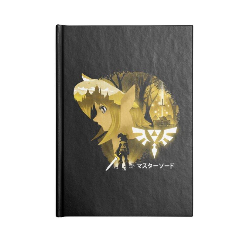 The Chosen Hero Accessories Lined Journal Notebook by dandingeroz's Artist Shop