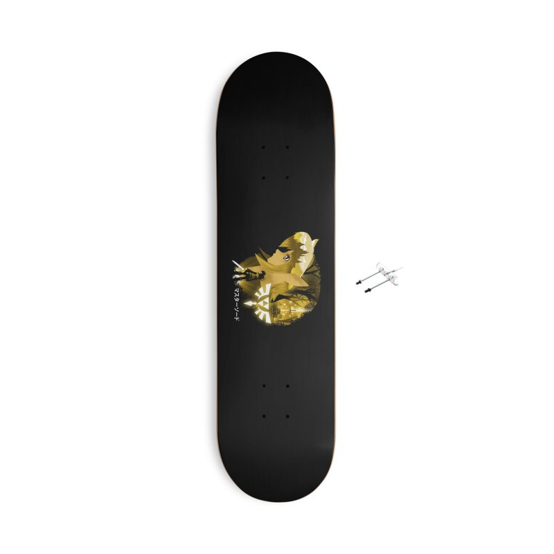 The Chosen Hero Accessories With Hanging Hardware Skateboard by dandingeroz's Artist Shop