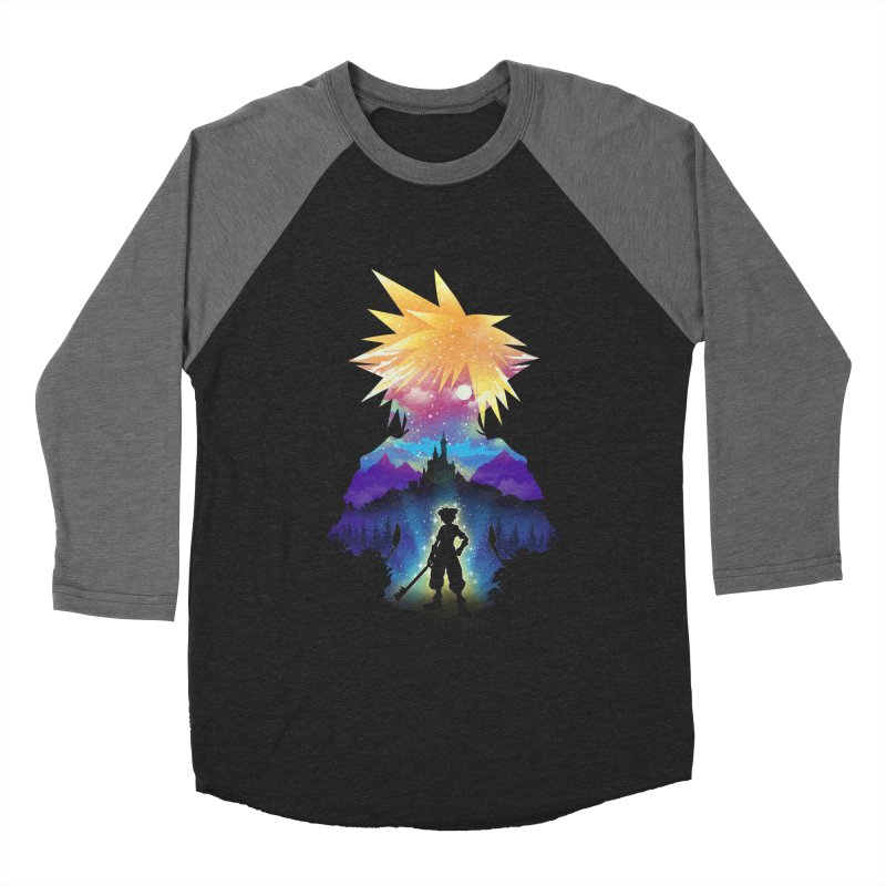 Midnight Hearts Women's Longsleeve T-Shirt by dandingeroz's Artist Shop