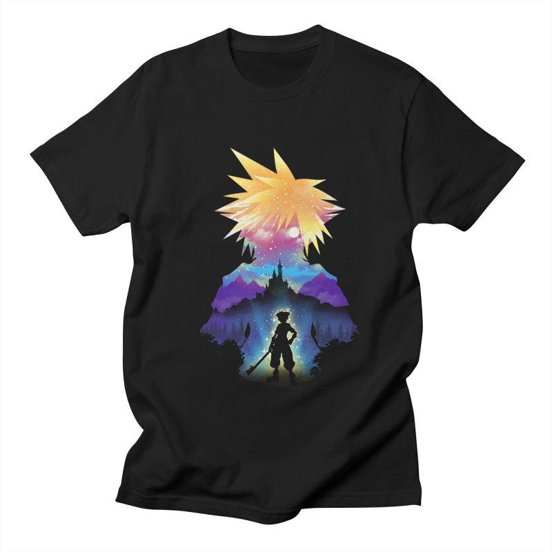 Midnight Hearts Men's Regular T-Shirt by dandingeroz's Artist Shop