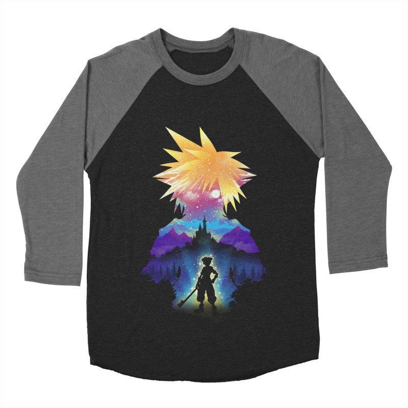 Midnight Hearts Women's Baseball Triblend Longsleeve T-Shirt by dandingeroz's Artist Shop