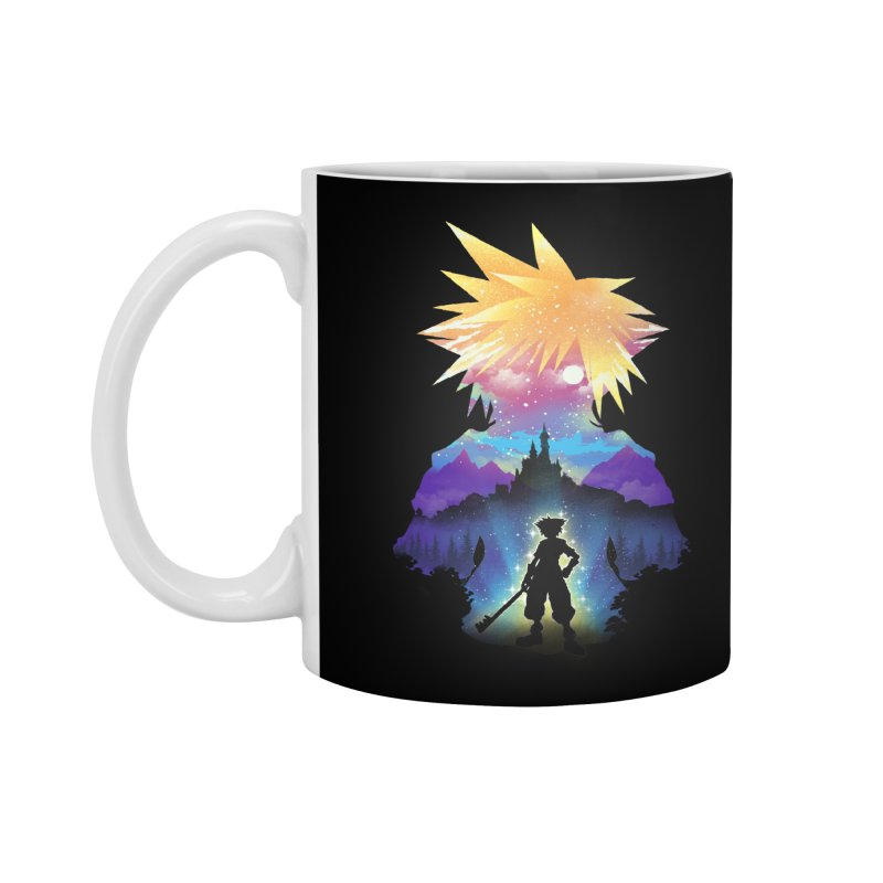 Midnight Hearts Accessories Standard Mug by dandingeroz's Artist Shop
