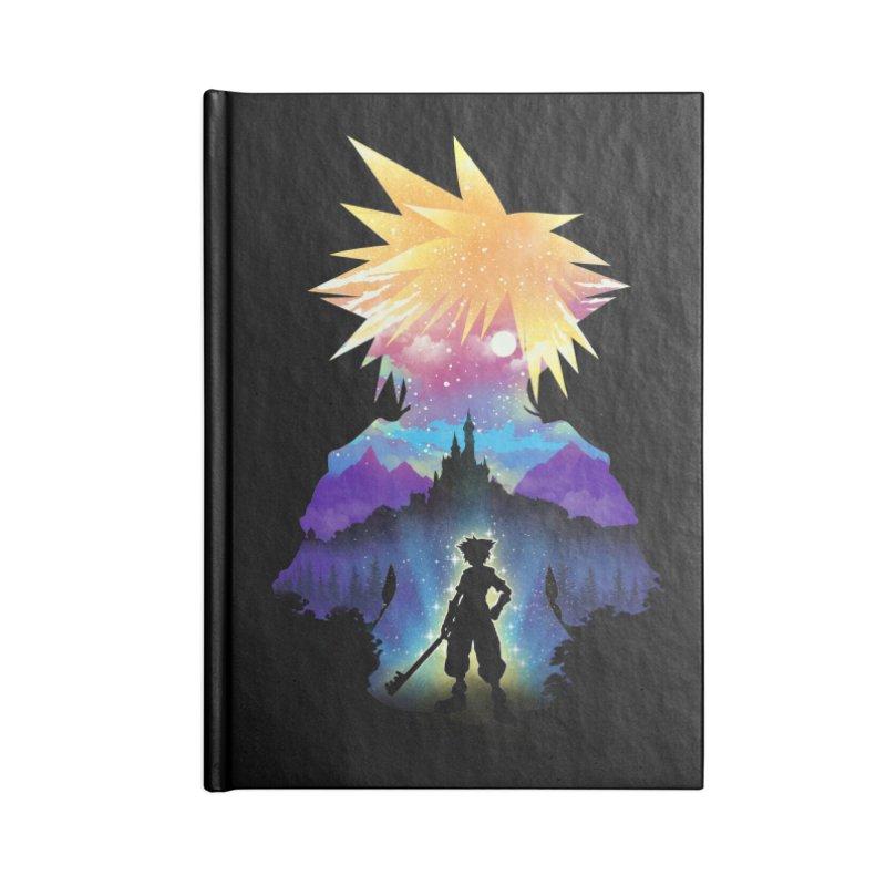 Midnight Hearts Accessories Lined Journal Notebook by dandingeroz's Artist Shop