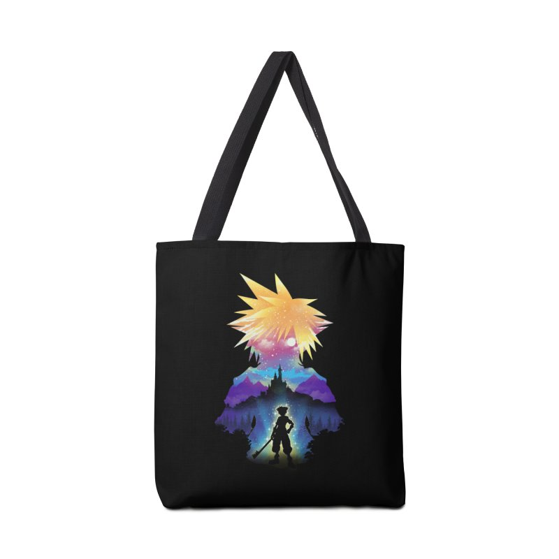 Midnight Hearts Accessories Tote Bag Bag by dandingeroz's Artist Shop