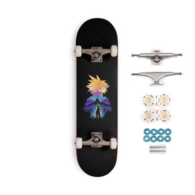 Midnight Hearts Accessories Complete - Premium Skateboard by dandingeroz's Artist Shop