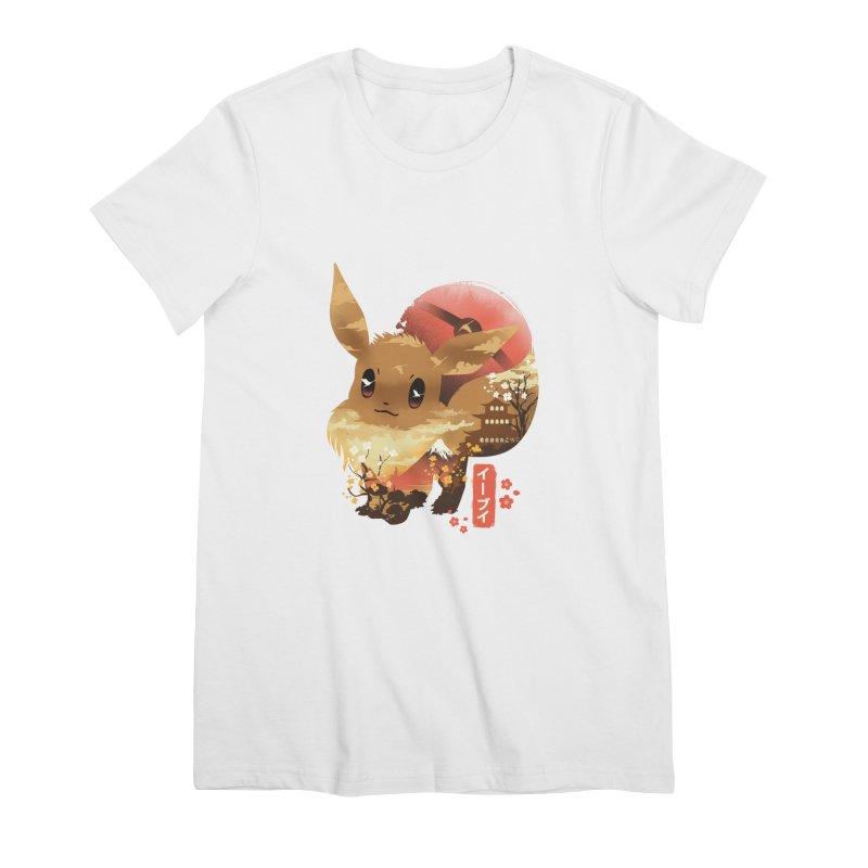 Evolution Monster Women's Premium T-Shirt by dandingeroz's Artist Shop