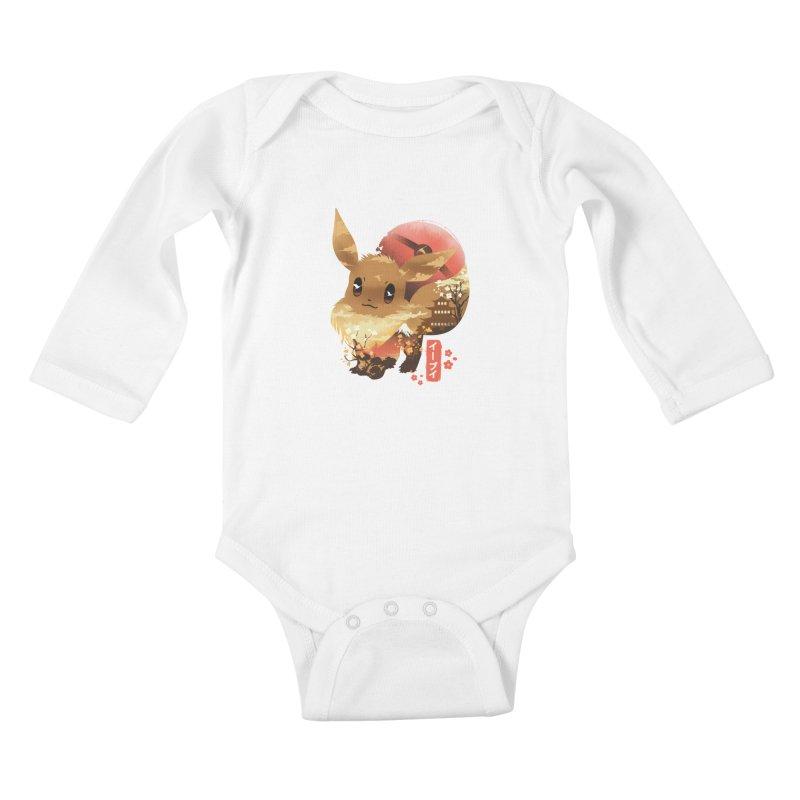 Evolution Monster Kids Baby Longsleeve Bodysuit by dandingeroz's Artist Shop