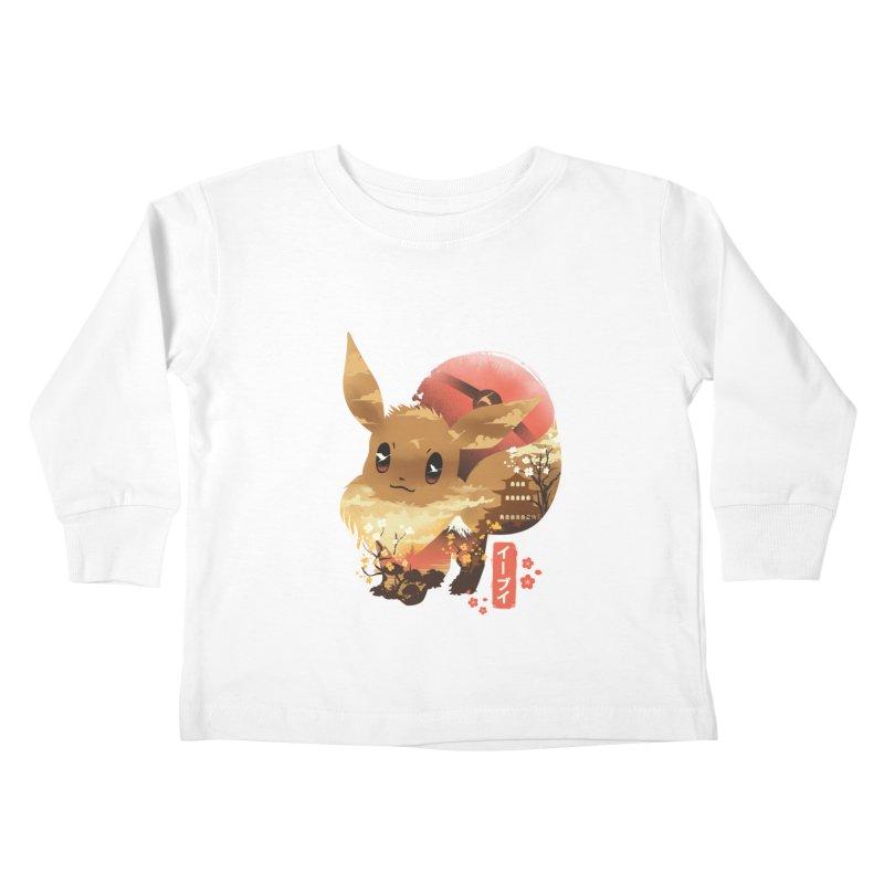 Evolution Monster Kids Toddler Longsleeve T-Shirt by dandingeroz's Artist Shop