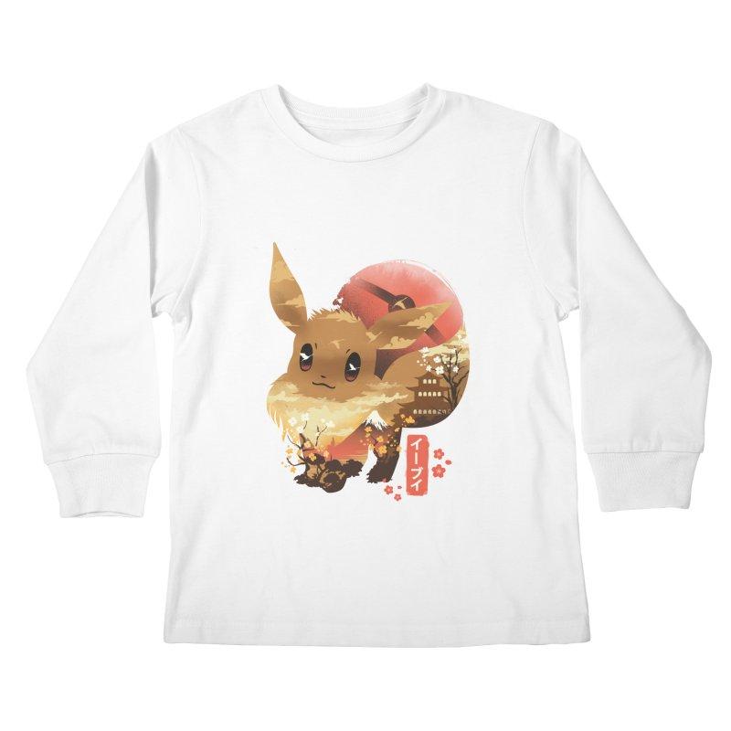 Evolution Monster Kids Longsleeve T-Shirt by dandingeroz's Artist Shop