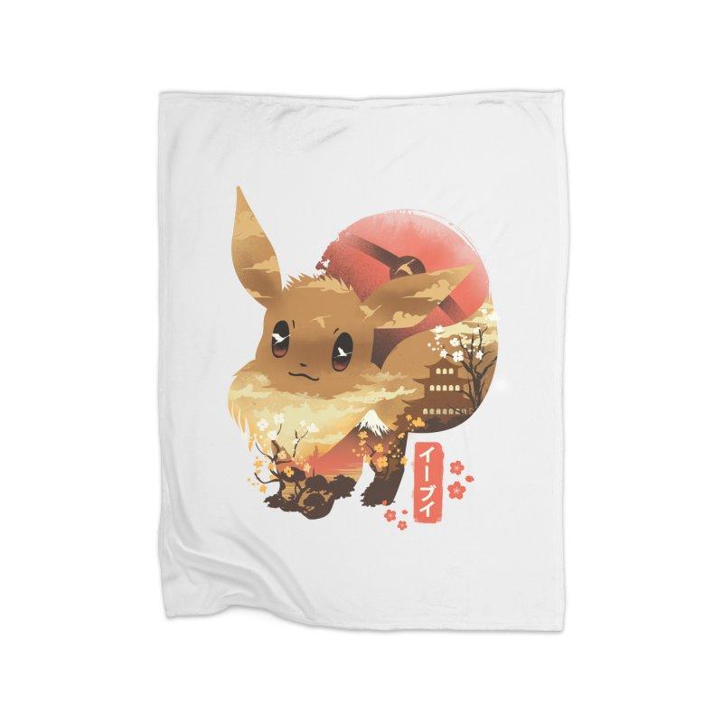 Evolution Monster Home Fleece Blanket Blanket by dandingeroz's Artist Shop