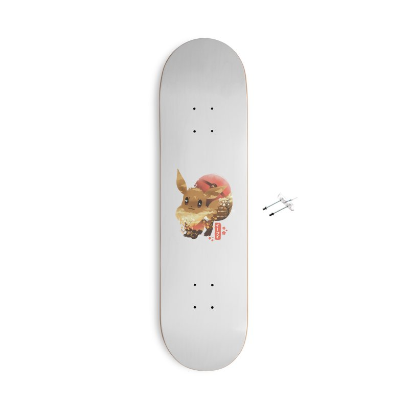 Evolution Monster Accessories With Hanging Hardware Skateboard by dandingeroz's Artist Shop