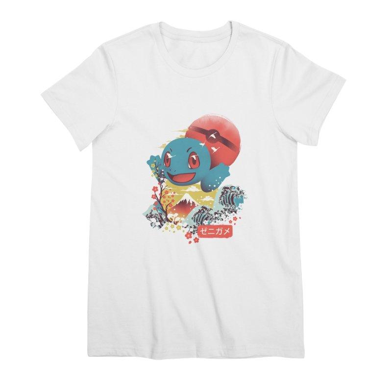 Water Monster Women's Premium T-Shirt by dandingeroz's Artist Shop