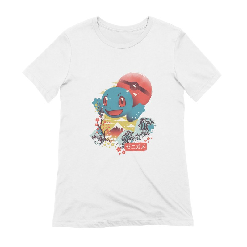 Water Monster Women's Extra Soft T-Shirt by dandingeroz's Artist Shop