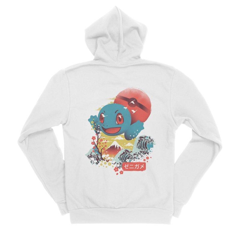 Water Monster Women's Sponge Fleece Zip-Up Hoody by dandingeroz's Artist Shop