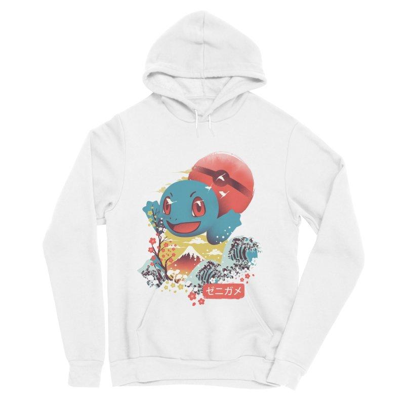 Water Monster Men's Sponge Fleece Pullover Hoody by dandingeroz's Artist Shop