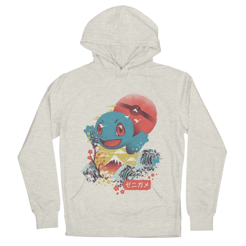 Water Monster Men's French Terry Pullover Hoody by dandingeroz's Artist Shop