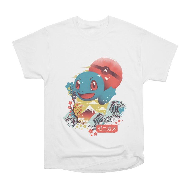 Water Monster Women's Heavyweight Unisex T-Shirt by dandingeroz's Artist Shop