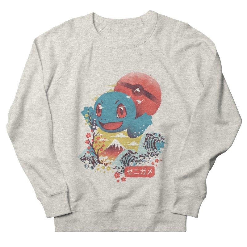 Water Monster Men's French Terry Sweatshirt by dandingeroz's Artist Shop