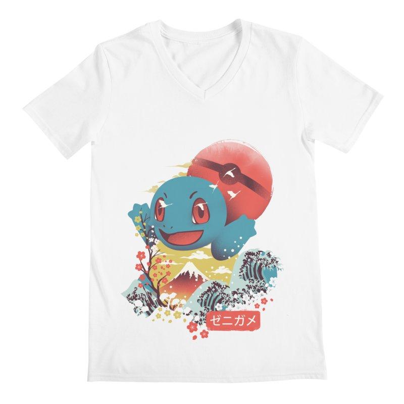 Water Monster Men's Regular V-Neck by dandingeroz's Artist Shop